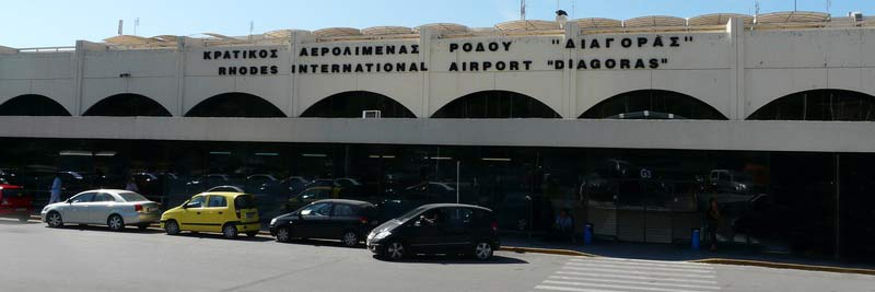 Rhodes Airport Greece