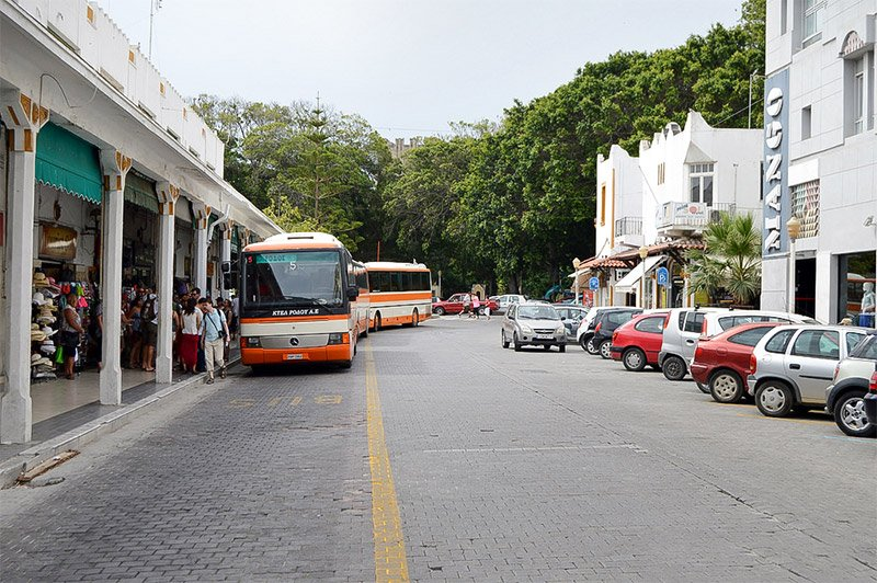 rhodes central bus station